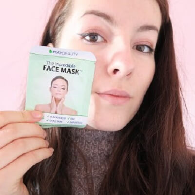 Laura de Graaf and MayBeauty's Incredible Face Mask